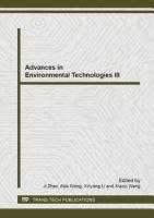 Advances in Environmental Technologies III PDF