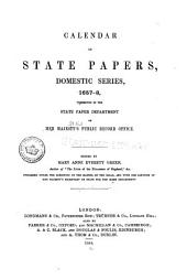 Calendar of State Papers, Domestic Series [of the Commonwealth] 1649-1660: Volume 11