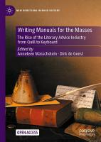 Writing Manuals for the Masses PDF