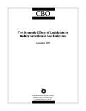 Economic Effects of Legislation to Reduce Greenhouse-Gas Emissions