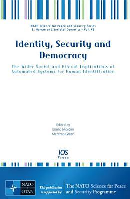 Identity  Security and Democracy PDF