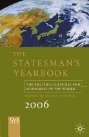 The Statesman s Yearbook 2006 PDF