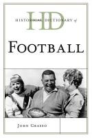 Historical Dictionary of Football PDF