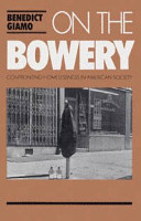 On the Bowery PDF