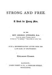 Strong & Free: A Book for Young Men