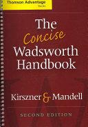 Cengage Advantage Books  The Concise Wadsworth Handbook PDF