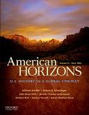 American Horizons  Since 1865