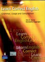 Learn Correct English: Grammar, Composition and Usage