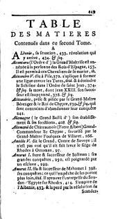 Histoire des chevaliers hospitaliers de Saint Jean de Jérusalem: apelez depuis chevaliers de Rhodes, & aujourd'hui chevaliers de Malthe, Volume2