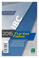 2015 International Building Code Turbo Tabs