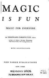 Magic is Fun: Magic for Every One