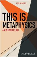 This Is Metaphysics PDF