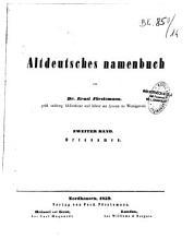 Altdeutsches Namenbuch PDF