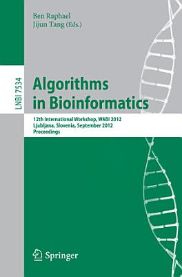 Algorithms in Bioinformatics PDF