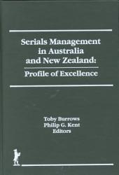 Serials Management in Australia and New Zealand PDF
