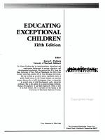 Educating Exceptional Children PDF