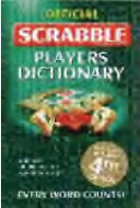 Official Scrabble Players Dictionary Book