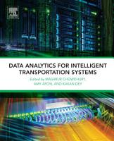Data Analytics for Intelligent Transportation Systems PDF