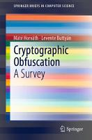 Cryptographic Obfuscation PDF