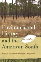 Environmental History and the American South PDF