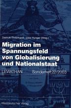 Migration im Spannungsfeld von Globalisierung und Nationalstaat PDF