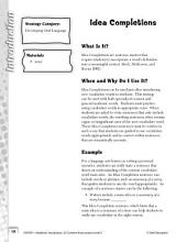Academic Vocabulary Level 3--Patterns of Multiplication