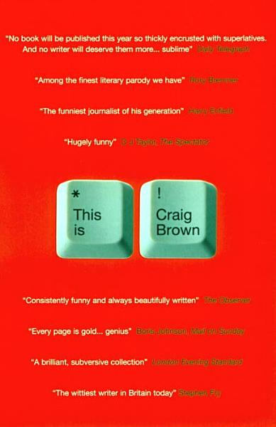 Download This Is Craig Brown Book