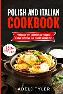 Polish And Italian Cookbook PDF