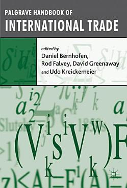 Palgrave Handbook of International Trade PDF