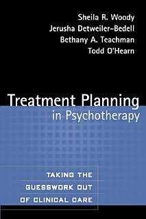 Treatment Planning in Psychotherapy Book
