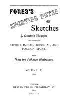 Fores s Sporting Notes   Sketches PDF