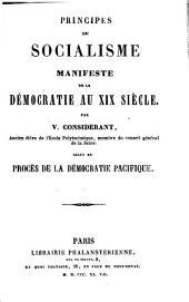 Principes du socialisme: Manifeste de la démocratie au XIXe siècle