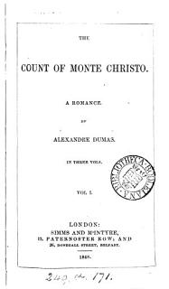 The Count of Monte Christo  A Romance Book