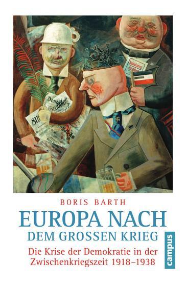 Europa nach dem Gro  en Krieg PDF