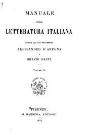 Manuale della letteratura italiana