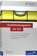 Qualit  tsmanagement mit SAP PDF