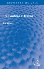 The Functions of Sterling