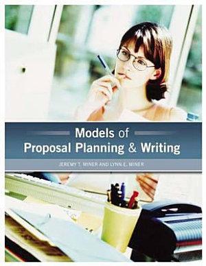 Models of Proposal Planning   Writing PDF