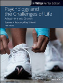 Psychology and the Challenges of Life  Adjustment and Growth Book