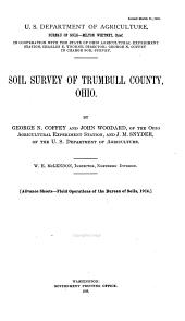 Soil Survey of Trumbull County, Ohio