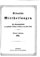 Erbauliche Mitteilungen: e. Gemeinschaftsbl. zur gegenseitigen Stärkung im Glauben an d. Herrn Jesum, Band 7