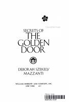 Secrets of the Golden Door PDF
