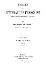 Histoire de la littérature française depuis le XVIe siècle jusqu' à nos jours: Volume7