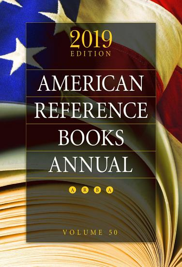 American Reference Books Annual  2019 Edition PDF