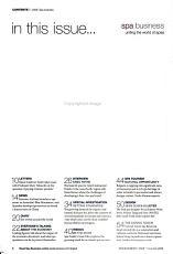 Spa Business PDF