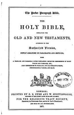 The pocket paragraph Bible PDF