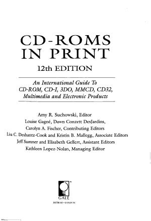 CD ROMs in Print PDF