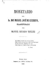 Monetario del Sr. Don M. J. de Guerrico, clasificado por M. R. Trelles