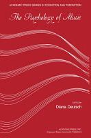 Psychology of Music PDF