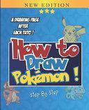 How To Draw Pokemon PDF